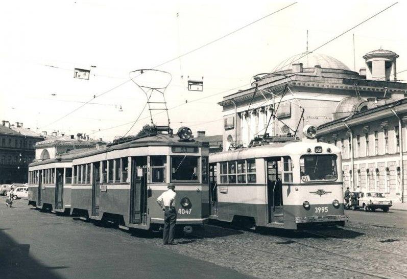 Трамваи 70-х