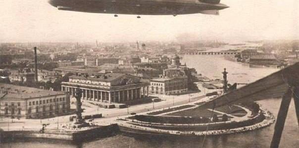 Дирижабль «Граф Цеппелин» в Ленинграде