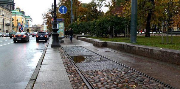 Памятная доска Первой трамвайной линии