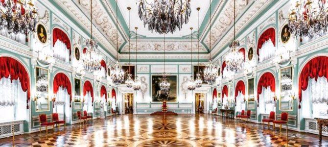 Тронный зал Большого Петергофского дворца
