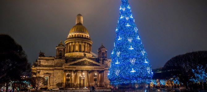Новогодний маршрут по центру Петербурга