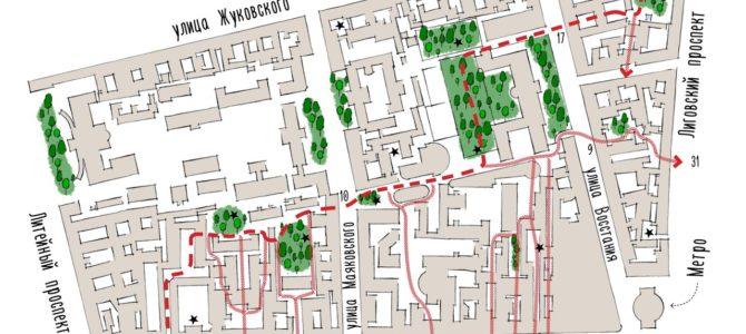 Карты проходных дворов