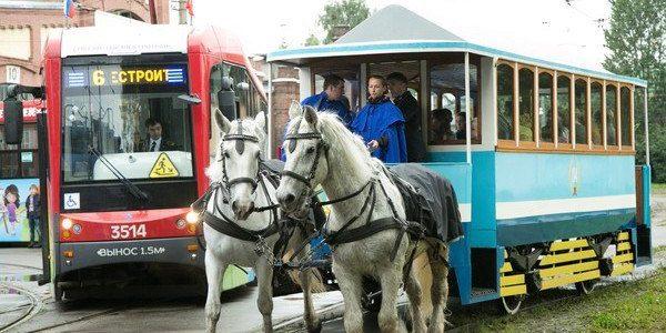 110 лет петербургскому трамваю