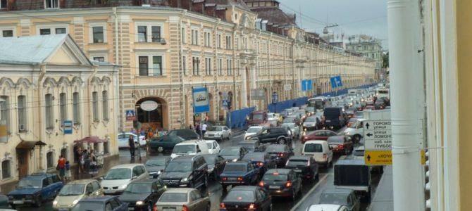 Петербургские пробки попали в антирекорд Европы