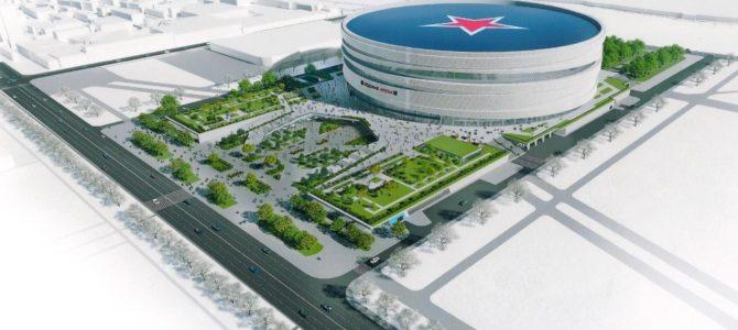 Проект спорткомплекса вместо СКК на проспекте Гагарина