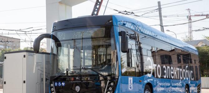 Первый русский электробус